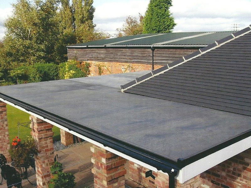 What materials are used in flat roofing roundhay roofing for What is the best roofing material