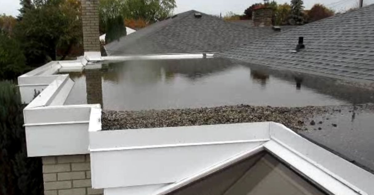 Drainage Options for Your Flat Roof | Roundhay Roofing