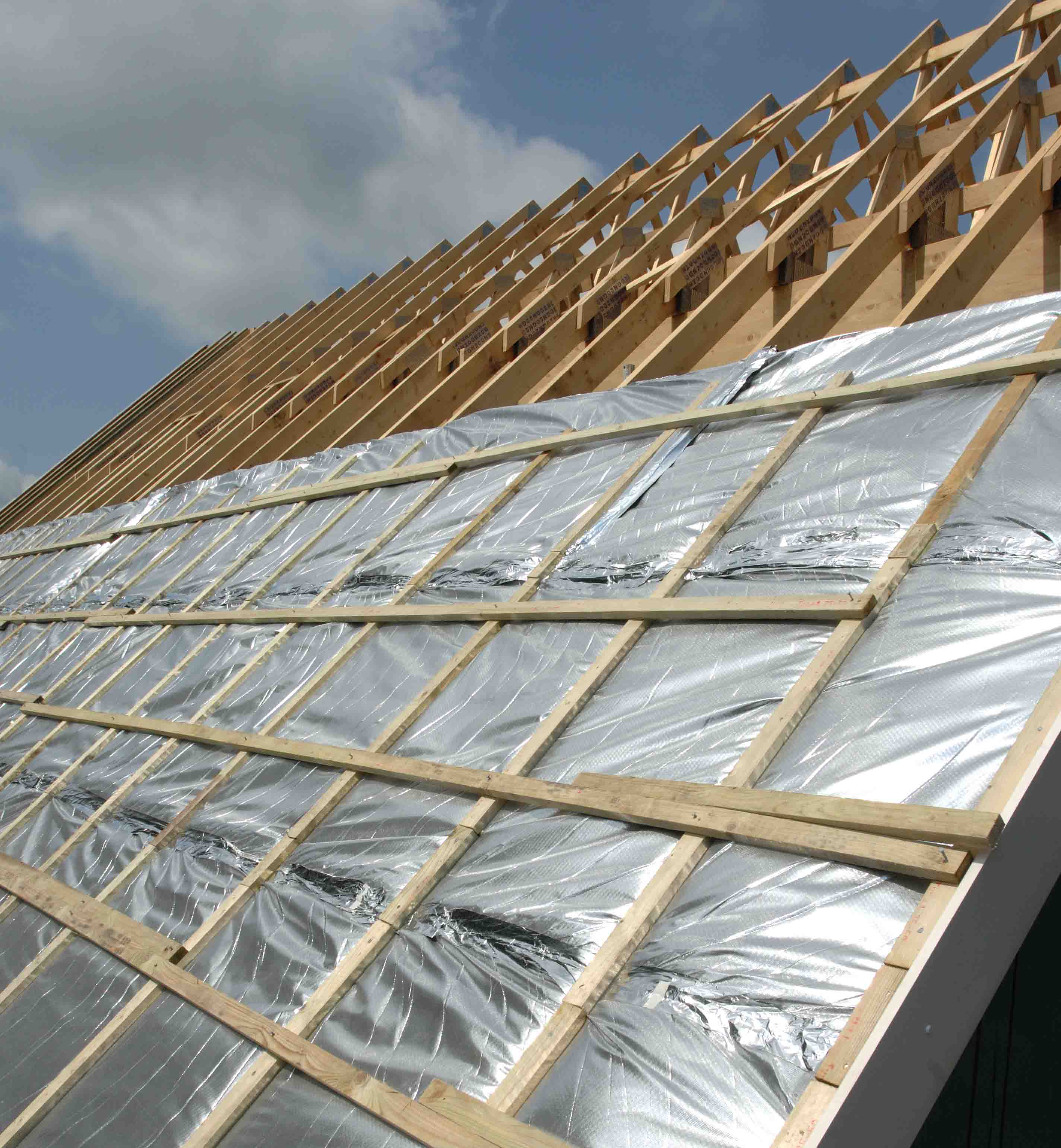 We perform roof insulation 72